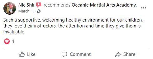 Kids2, Oceanic Martial Arts Academy Townsville Queensland