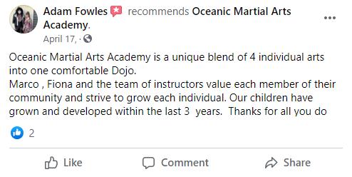 Kids4, Oceanic Martial Arts Academy Townsville Queensland